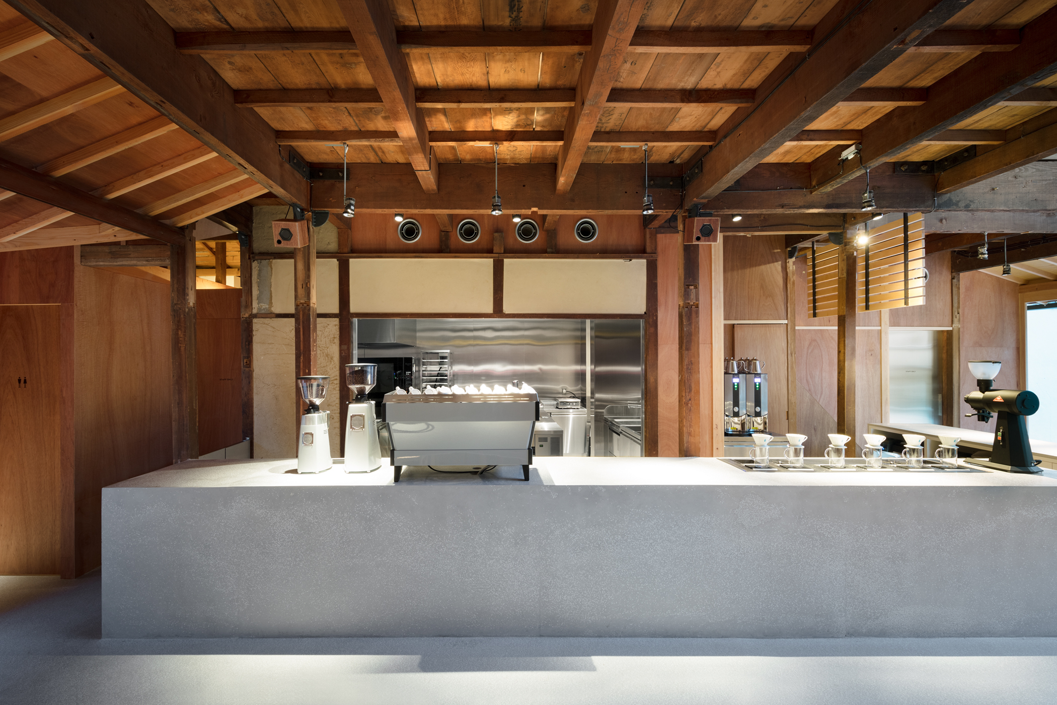 Blue Bottle Coffee Kyoto Cafe