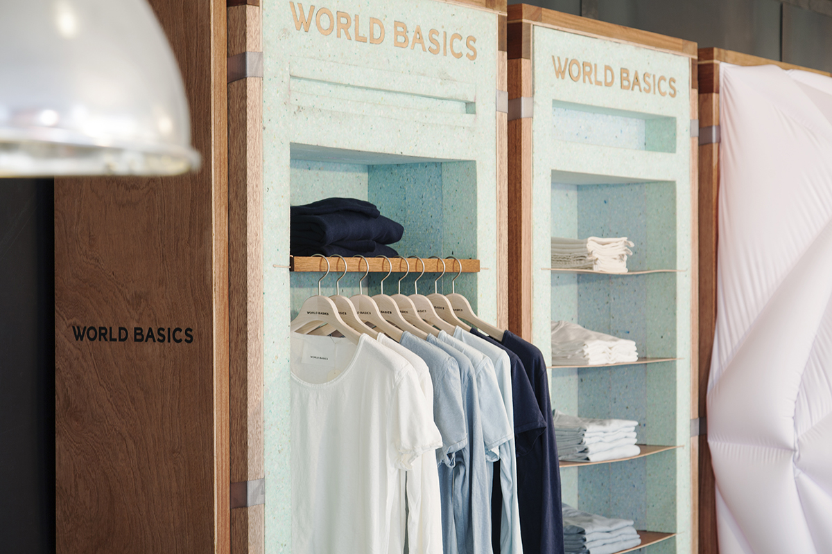 WORLD BASICS Pop-up Store @merci