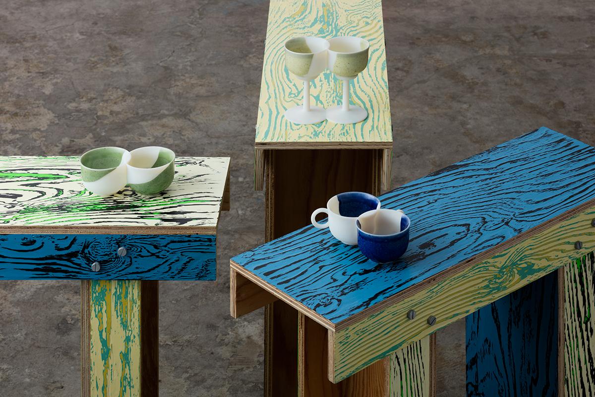 twintsugi + ColoRing shrine table