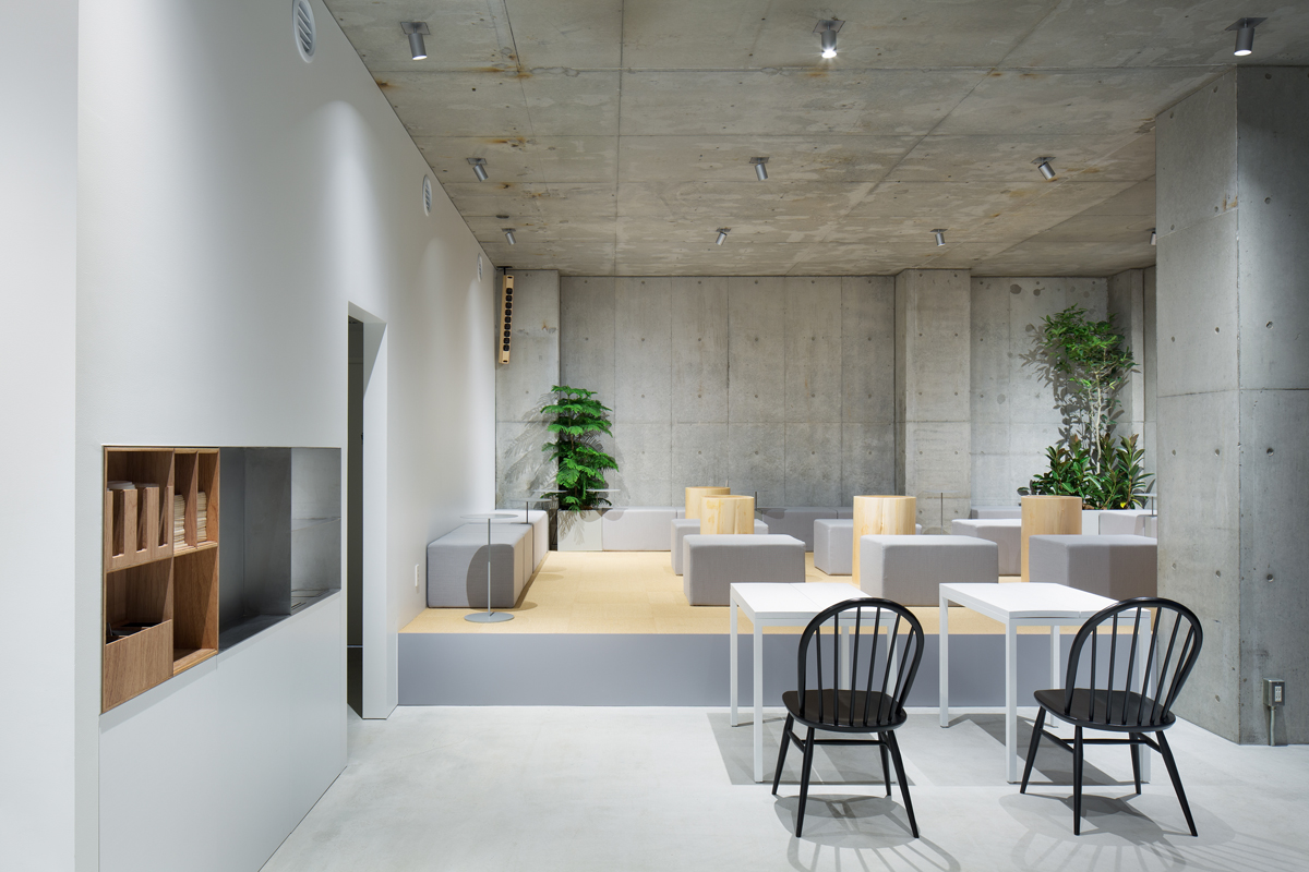 Blue Bottle Coffee Aoyama Cafe Schemata Architects Jo
