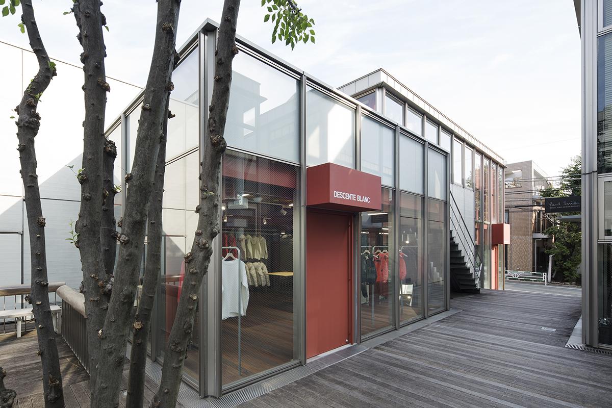 Descente Blanc Daikanyama Schemata Architects Jo Nagasaka