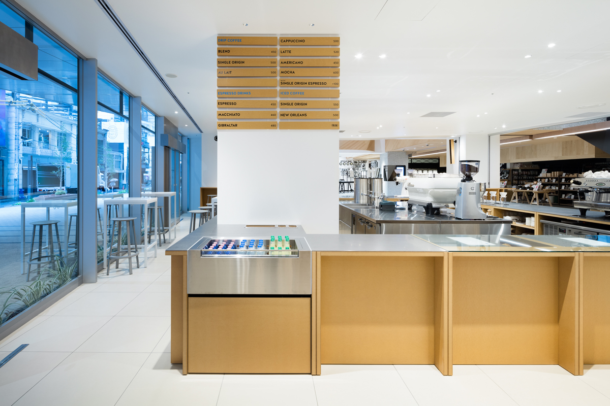 Blue Bottle Coffee Shinjuku Cafe Schemata Architects